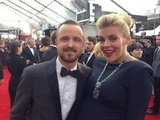 Busy Philipps stole a picture with Aaron Paul on the red carpet. Source: Twitter user Busyphilipps25