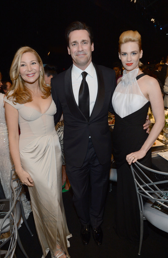 Jennifer Westfeldt, Jon Hamm, and January Jones