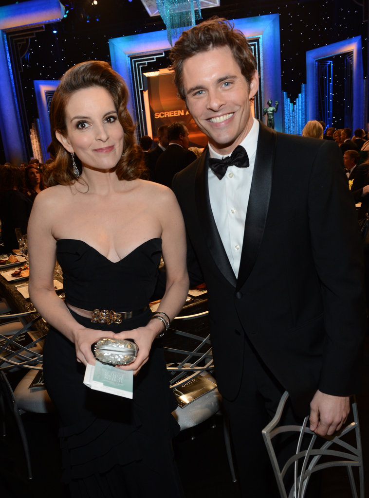 Tina Fey and James Marsden