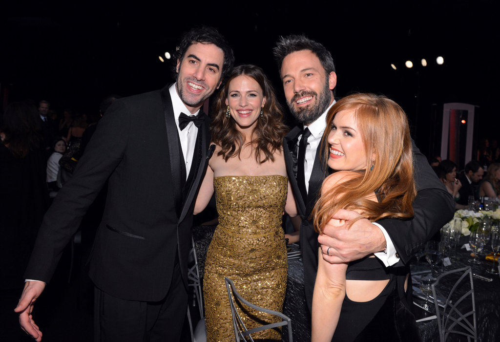 Sacha Baron Cohen, Jennifer Garner, Ben Affleck, and Isla Fisher