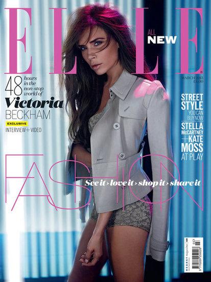 Victoria Beckham in Elle UK March 2013