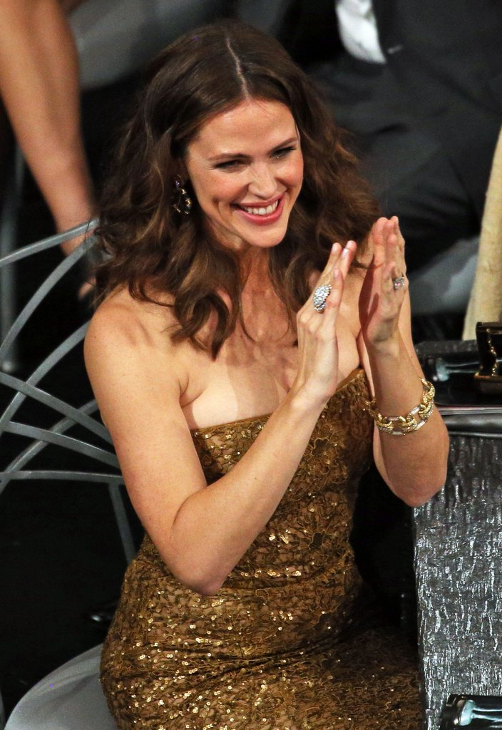 Jennifer Garner was all smiles supporting Argo.