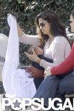 Camila Alves spent a Sunday with Livingston McConaughey.