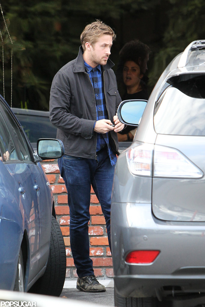 Ryan Gosling had lunch in Los Feliz.
