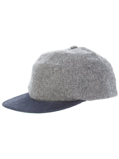 Switch up your headgear for a sportier tilt this season with this Woolrich Woolen Mills Baseball Cap ($91, originally $106).