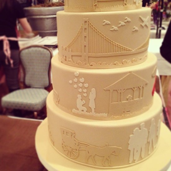 Tell Your Love Story With Your Cake