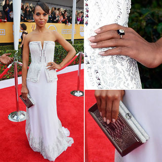 See Kerry Washington in Rodarte at 2013 SAG Awards