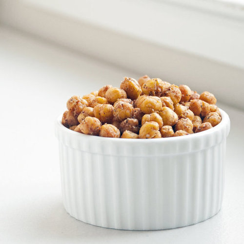 Mediterranean-Spiced Roasted Chickpeas