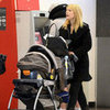 Claire Danes Travels With Baby Cyrus at LAX | Pictures