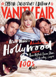 Emma Stone posed between Bradley Cooper and Ben Affleck in Vanity Fair.
