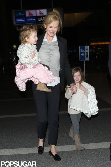 Nicole Kidman and Her Girls Wrap Up a Busy Award Season Weekend
