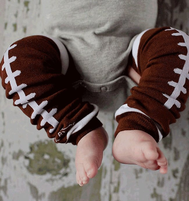 BabyLegs Football Leg Warmers