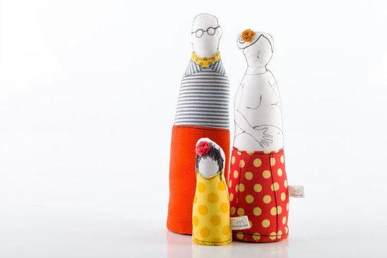 Timo Handmade Family Dolls