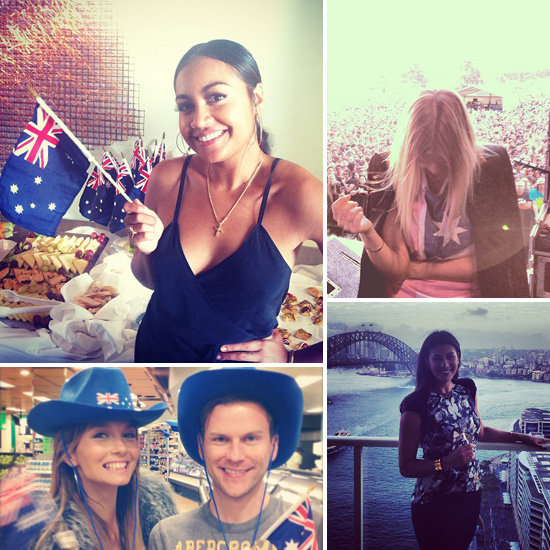 Aussie, Aussie, Aussie: See How Jessica, Lara, Ricki-Lee and More Celebrated Australia Day