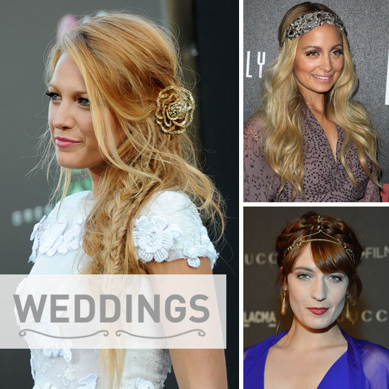 Bumper Bridal Beauty: Wedding Hair Accessory Inspiration From 40+ Celebrities