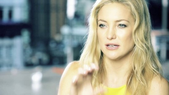 Behind the Scenes With Kate Hudson on Ann Taylor Spring '13 Shoot