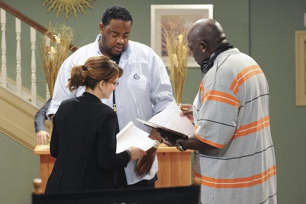 Grizz Chapman, Kevin Brown, and Tina Fey on 30 Rock.