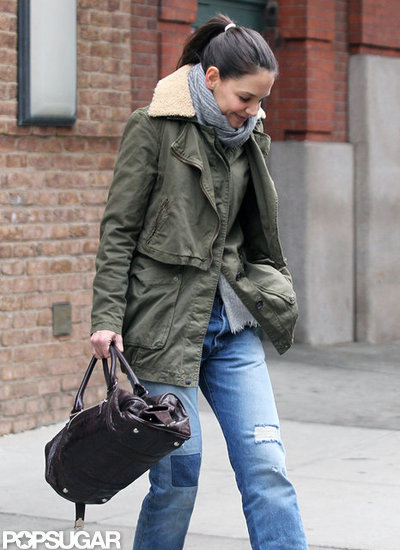 Katie Holmes Steps Out in NYC and Skips Fashion Week