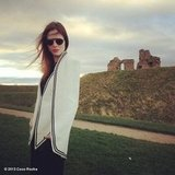Coco Rocha showed off her new Sass & Bide cape. Source: Coco Rocha on WhoSay