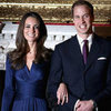 Maternity Version of Kate Middleton's Blue Engagement Dress
