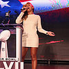 Beyonce Knowles Sings the National Anthem