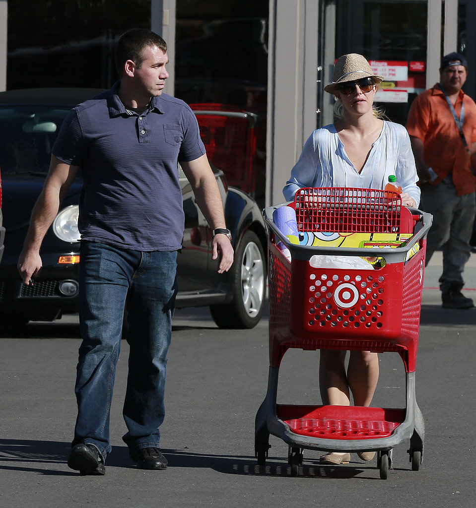 Britney Spears shopped in LA.