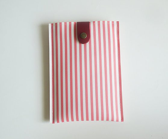 Pink Stripe Kindle Paperwhite Case ($25)