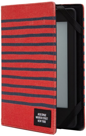 Jack Spade Striped Cover for Kindle Paperwhite ($60)