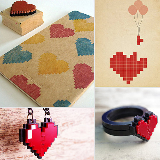 Celebrate Valentine's Day With Peace, Love, and Pixels