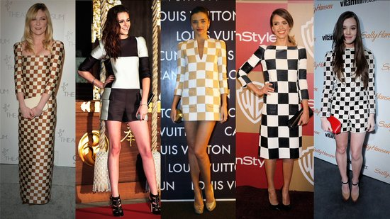 A Style Tutorial on the Checkered Trend, Straight From Kristen Stewart & More!