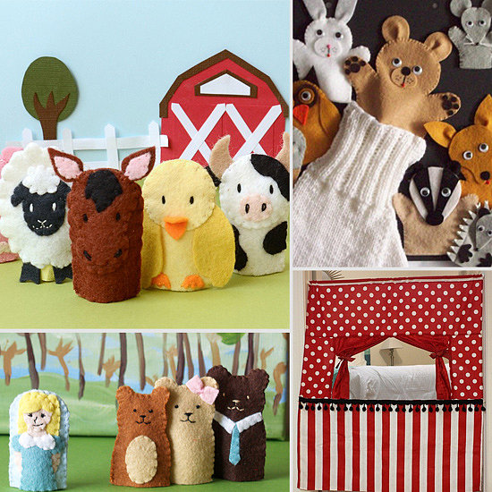 All the World's a Stage! 11 Fun Props For Your Little Puppeteer