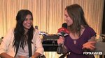 Exclusive Interview with Jessica Szohr at Spring 2011 New York Fashion Week