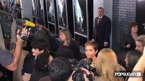 Emma Watson Cuts Class For Harry Potter Premiere