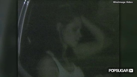 Video: Kristen Stewart's Post-Scream Car Ride