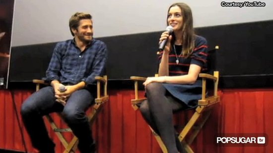 Video: Jake Gyllenhaal Makes Anne Hathaway's Bra Come Off