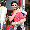 Orlando Bloom Takes Flynn Bloom to Lunch