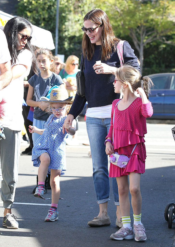 Jennifer Garner Has a Girls Day Following Her Night Out With Ben