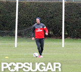 David Beckham Has His First Practice With Paris Saint-Germain