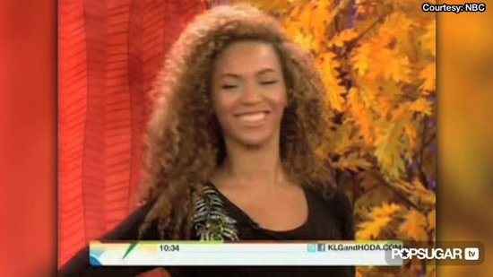 Video: Beyonce Models During Her Music Break