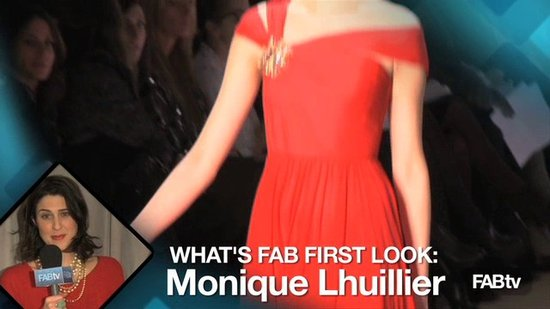 Monique Lhuillier Fall 2010 Collection at Fashion Week: What's Fab First Look