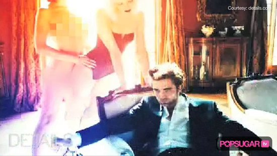 Video: Robert Pattinson's NSFW Shoot!
