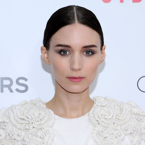 Celebrity Beauty: Rooney Mara Lilac & Grey Smoky Eye Makeup