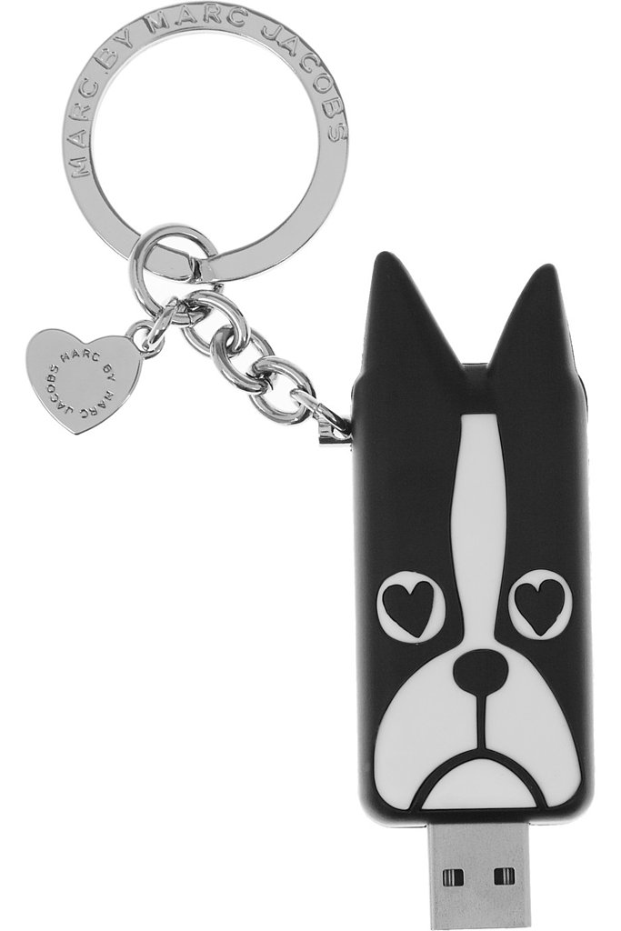This Marc by Marc Jacobs Shorty USB Stick ($42) is perfect for the animal loving techie.