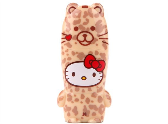 Any Hello Kitty fan will love this fun Hello Kitty Leopard USB Drive ($20).