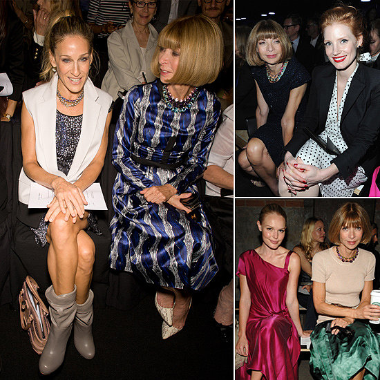 Best Seat in the House: Who's Been Front Row With Anna Wintour