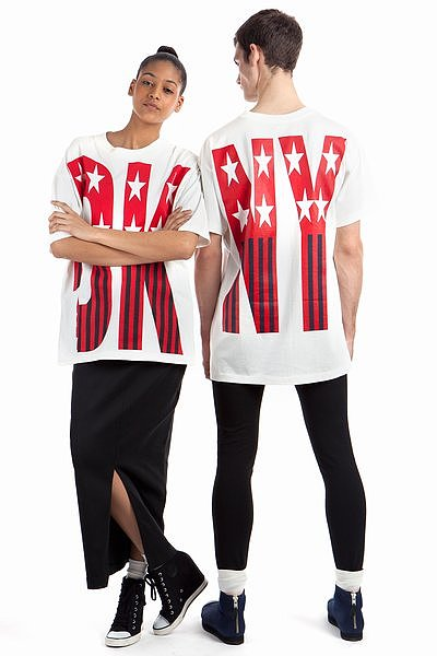 DKNY x OC Spring '92 Stars and Stripes T ($145)