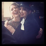 Puberty Blues cuties Brenna Harding and Ashleigh Cummings snuggled up on the red carpet at the AACTA Awards.