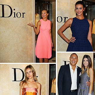 Christian Dior Flagship Store Opens In Sydney: Lara Bingle