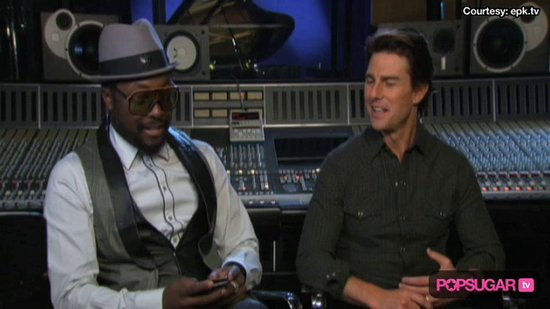 Video: Tom Cruise Talks Black Eyed Peas Collaboration