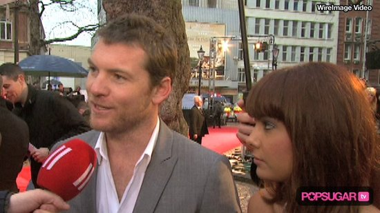 Video: Sam Worthington Is Comfortable in a Skirt